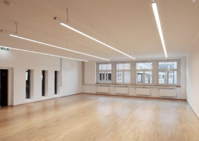 Umbau Schulbibliothek und Chorraum Polgargymnasium