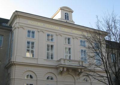 Fassadensanierung Institut für Gerichtsmedizin