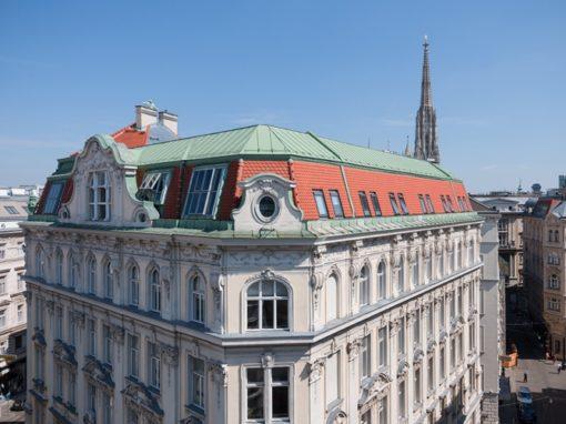 Dachsanierung Haus Tuchlauben
