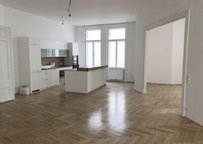 Wohnungssanierung Rosenbursenstraße