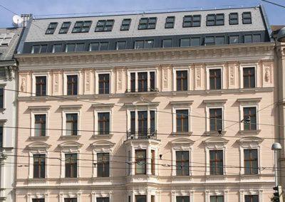 Dachgeschoßausbau Karlsplatz