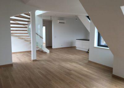 Dachgeschoßausbau und Wohnungsumbau Kandlgasse