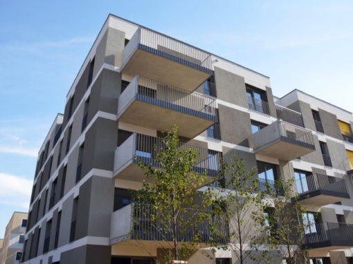 Wohnhausanlage Seestadt Aspern