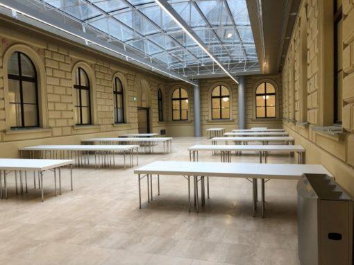 Brandschutzmaßnahmen Hauptgebäude Universität Wien