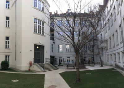 Fassaden- und Dachsanierung Chemie Fakultät Haus 1